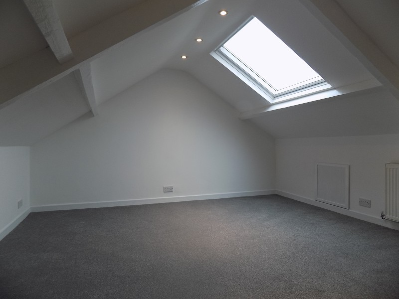 Decorated Attic Space